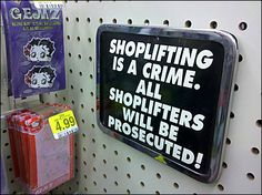 Making Shoplifting Policy Perfectly Clear -- Curated by: Desert City Security Inc. | 2277 Turnberry Place, Kamloops, Bc, V1S 1S8 | 250-828-8778