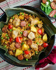 Arroz Valenciana: Filipino-Spanish dish