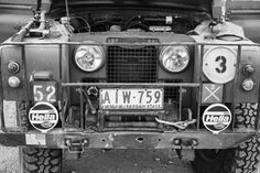 Former military Australian Land Rover Series IIa
