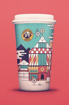 Einstein Bros. Visit Jollyville Amidst the Red Cup Controversy - @FearNotAgency - The St. Louis Egotist