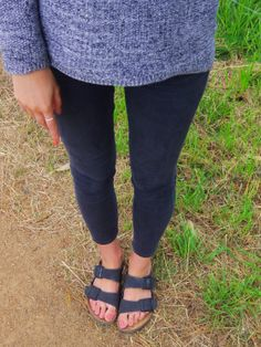 Birkenstocks - Arizona in black http://callitamap.wordpress.com/2013/12/10/outfit-of-the-day-birkenstocks/