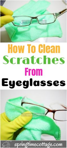 Cleaning your eyeglasses has just gotten easier. Here are some simple but really smart tips to get your eyeglasses really clear. Homemade Cleaning Products, Natural Cleaning Products, Cleaning Solutions, Cleaning Hacks, Organization Hacks, Organizing, Diy Beauty, Beauty Tips, Dandy