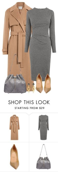 """""""Untitled #1637"""" by directioner-123-ii on Polyvore featuring Jason Wu, Whistles, Christian Louboutin, Sarah Magid, women's clothing, women, female, woman, misses and juniors"""