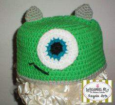 Gorrito Mike tejido a crochet!