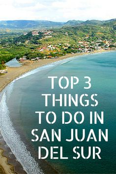 Traveling to #Nicaragua soon? The Pacific beach town San Juan del Sur is not to be missed! #WanderlustWednesday http://esperanzamarket.com/blogs/news/92465923-top-three-things-to-do-in-san-juan-del-sur-nicaragua