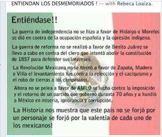 La Historia se forjo por la valentia de cada uno de los Mexicanos