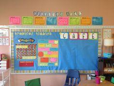 Tropical tidbits beach theme classroom