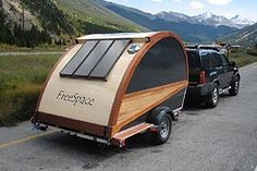 Expandable teardrop campers  Love the concept