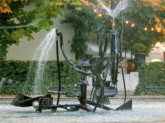 Tinguely Fountain in Basel