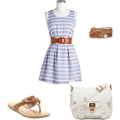 Summer, created by kvb90 on Polyvore