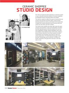 An article on a retail outlet of a tile studio published in Hardware Samachar of May -June 2016 issue... read it & post your comments ‪#‎archanaamit‬ ‪#‎interiorarchitecture‬ ‪#‎designstudio‬ ‪#‎tilesanetary‬ ‪#‎publications‬ ‪#‎hardwaresamachar‬ #Kevin Desai ‪#‎kitchendesire‬