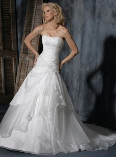 Large View of the Megan Bridal Gown