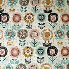 TIssu patchwork Flower
