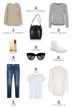 Wanted so badly french wardrobe French Minimalist Wardrobe, Minimal Wardrobe, Minimalist Fashion, Minimalist Lifestyle, French Capsule Wardrobe, French Wardrobe Basics, Classic Wardrobe, Perfect Wardrobe, Men's Wardrobe