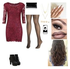 """Night at the club"" by jessicaravenb on Polyvore featuring L.K.Bennett, LULUS and Avenue"