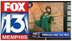 "Ballet On Wheels Performance on Fox13-- ""Princess and the Frog"""