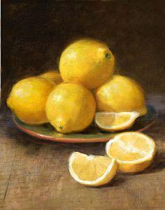 Lemons Print by Robert Papp