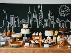 new york themed party - Google Search