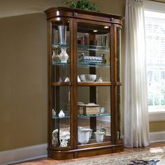 Best Of Pulaski Curio Cabinet 21131
