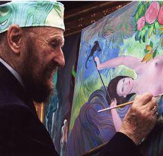 Der Malerfürst ist tot - Ernst Fuchs, der Mitbegründer der Wiener Schule des Phantastischen Realismus starb gestern mit 85 Jahren an Altersschwäche. Mehr dazu hier: http://www.nachrichten.at/nachrichten/kultur/Der-Malerfuerst-ist-tot;art16,2025138 (Bild: APA)