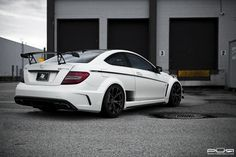 Mercedes-Benz C63 AMG Black Series lowered on PUR Wheels #mbhess #mbcars #mbtuning #purwheels