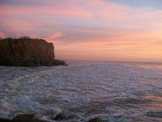 Playa Luna Roja, Costa Atlántica Argentina