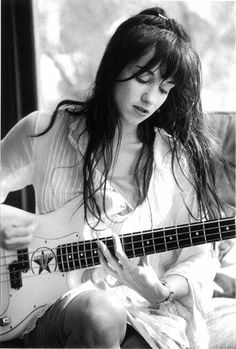 Kristen Pfaff (1967~1994) of 'Janitor Joe' and 'Hole' with Courtney Love . died of a heroin overdose on June 16, 1994 at the age 27 years old. #Musician #Legend #27YearsOld