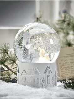 Christmas Accessories, Indoor & Outdoor Christmas Home Accessories for Sale UK Christmas Snow Globes, Christmas Trends, Outdoor Christmas, Christmas Home, White Christmas, Scandi Christmas Decorations, Faux Snow, Christmas Accessories, Xmas Presents