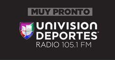 Preparara tus oídos para llevar tu pasión por el deporte contigo!! #UnivisionDeportesRadio 105.1FM #Deportes #español Ψ()Ψ
