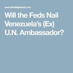 Will the Feds Nail Venezuela's (Ex) U.N. Ambassador?