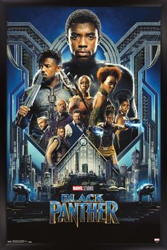 Marvel Cinematic Universe: Black Panther - Group One Sheet Poster