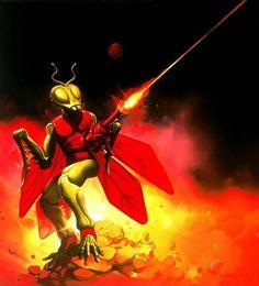 Ken Kelly / Micronauts - Inspiration for Gamma World or Mutant Future