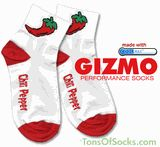 Gizmo  Famous Chili Pepper Socks(white)***