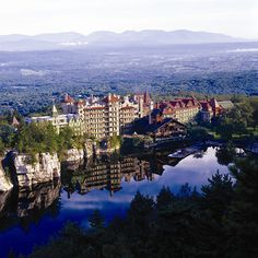Mohonk Mountain House, #2014Top10GreenSpa #OrganicSpaMagazine