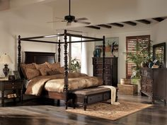 Buy Key Town California King Poster bed with Canopy by actually have this in my room love it Millennium ...