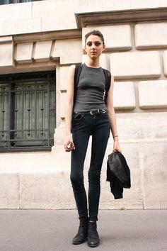 ストリートスナップパリ - SARAH ENGELLANDさん | Fashionsnap.com