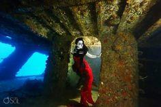 La catrina sirena por la Fotográfa Sol Tamargo