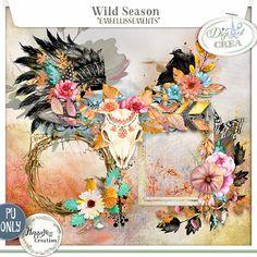 Wild Season by HappyNess {Embellissements}   http://digital-crea.fr/shop/index.ph