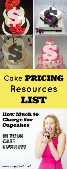 Pricing Resources | Pricing your cakes, baked goodies and sweet items is the #1 most common question. I have rounded up my full list of pricing resources for your business!