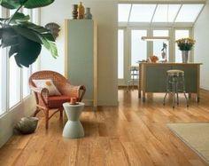 Red Oak Natural hardwood flooring - wider plank #oak #hardwood