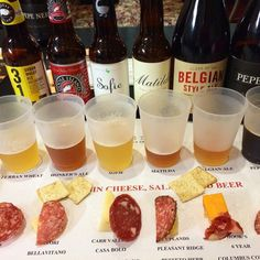 How To Create a Beer and Cheese Board Pairing