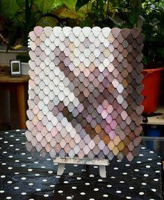 Pixel/scales art