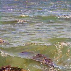 """Surface Value"" - Original Fine Art for Sale - © Ken Devine Paintings I Love, Seascape Paintings, Landscape Paintings, Beautiful Paintings, Landscape Photos, Eduardo Vuillard, Henri Matisse, Monet, Costa"