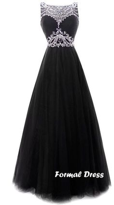 nice Black long prom dress, elegant a-line rhinestone chiffon  graduation  dress,formal  dresses from Formal  Dress by http://www.illsfashiontrends.top/long-prom-dresses/black-long-prom-dress-elegant-a-line-rhinestone-chiffon-graduation-dressformal-dresses-from-formal-dress/