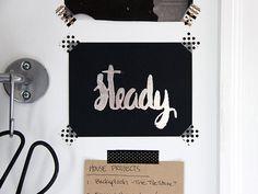 12 DIY Word Art Projects >> http://blog.diynetwork.com/maderemade/2015/05/19/trend-alert-12-ways-with-diy-word-art/?soc=pinterest