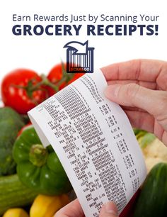 3 Ways to Earn Cash from Your Grocery Receipts #savingmoney #frugality