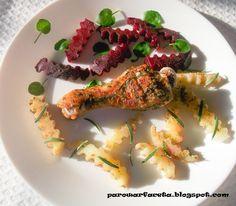 Podudzie kurczaka z parowaru