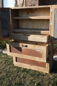 YOUR Custom Rustic Barn Wood Tall Dresser with by timelessjourney