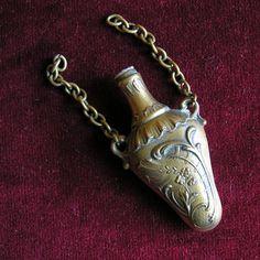 Chatelaine perfume bottle