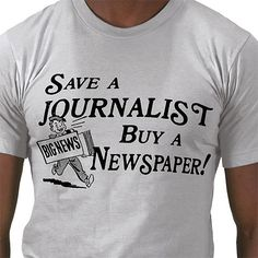 Save a journalist...
